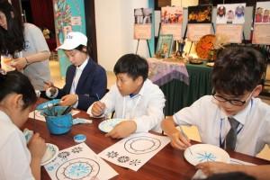 Мастер-класс по росписи тарелок в технике Гжель