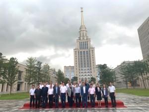 Совместное фото членов делегации