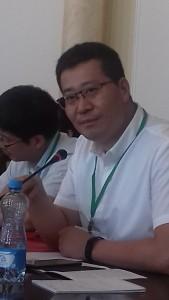 Ли Цзаньган, замдекана. Шаньдунский университет.
