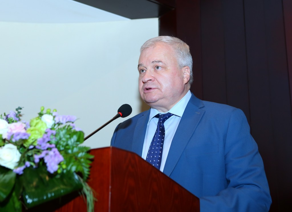 1.Выступление Чрезвычайного и Полномочного Посла Российской Федерации в КНР А.И.Денисова