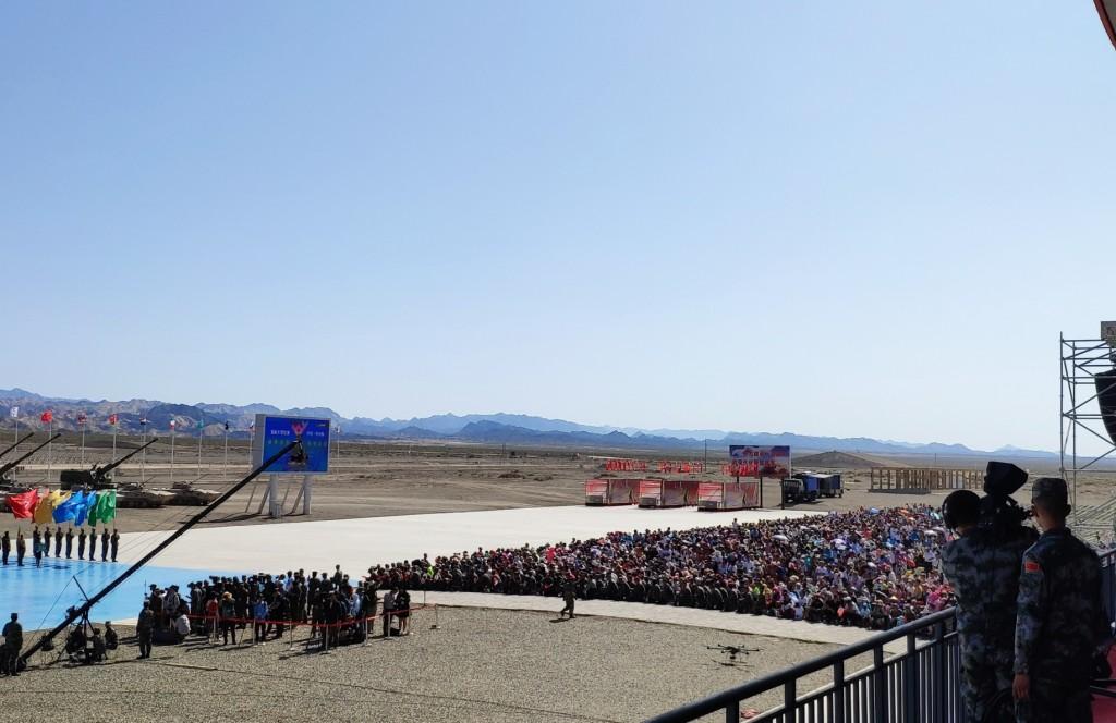 Посетители V Армейских международных игр