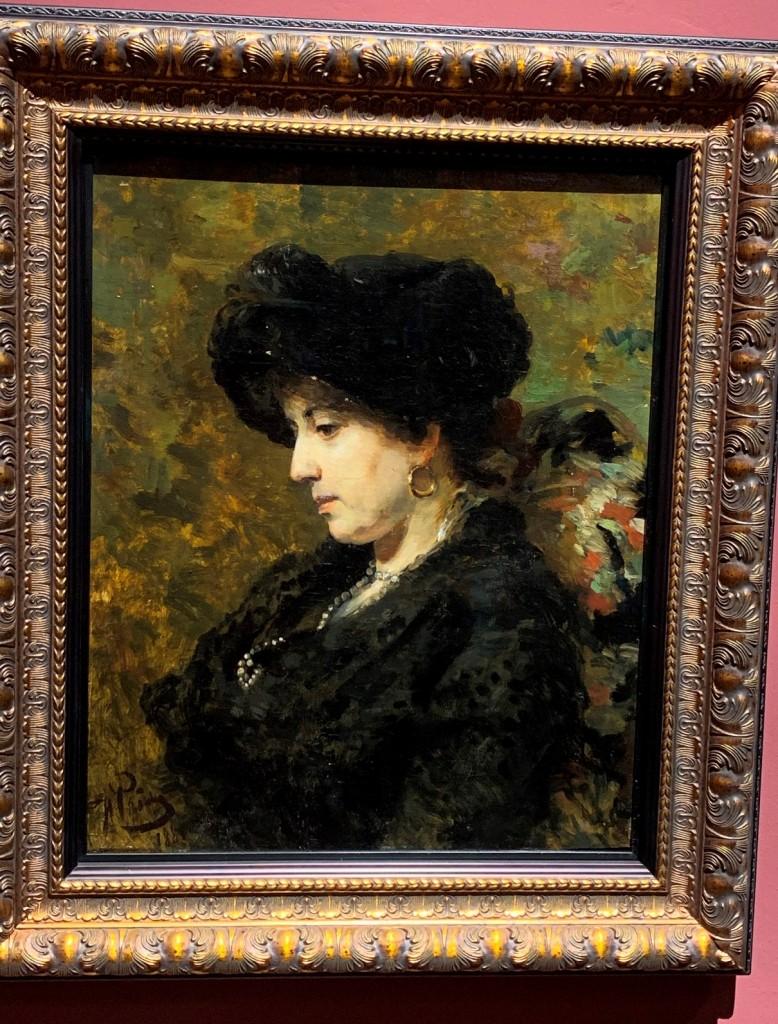 Картина «Портрет Юлии Маковской» кисти И.Е. Репина