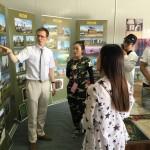 Российская экспозиция, подготовленная ЦВМС и РКЦ в Пекине, открылась в Доме дружбы на V Армейских международных играх в городе Корла (КНР)