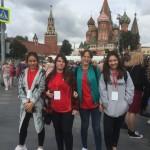"""来自中国的""""你好,俄罗斯!""""项目参与者访问莫斯科 Участники проекта «Здравствуй, Россия» из Китая знакомятся с Москвой"""