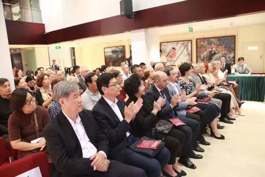 Слушатели фортепианного концерта