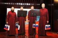 Квартет «Знамение» на сцене Российского культурного центра в Пекине