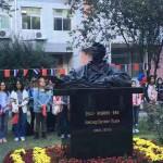 首座普希金雕像在京揭幕 В Пекине открылся первый памятник Александру Пушкину