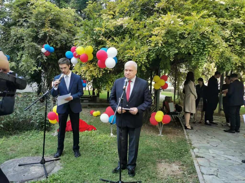 Приветствие Посла России в Китае А.И. Денисов