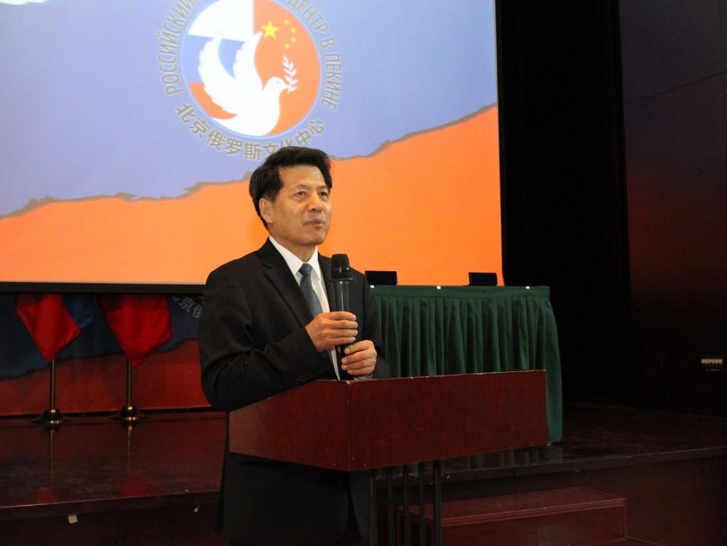 Специальный представитель правительства КНР по делам Евразийского региона, бывший Посол КНР в РФ г-н Ли Хуэй