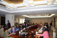 Делегация Молодежного парламента Ханты-Мансийского автономного округа на встрече в Федерации китайской молодежи