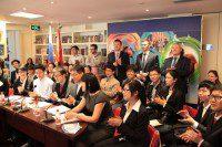Участники конференции в Российском культурном центре