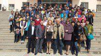 Участники образовательной программы в городе Лоян