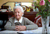 Е.П. Кишкина в канун своего 100-летия