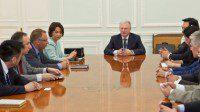 Круглый стол с участием заместителя Руководителя Россотрудничества Ларисы Ефремовой