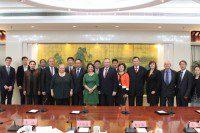 Общее фото участников Российско-Китайской рабочей группы