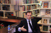 Интервью Министра культуры России китайскому телевидению