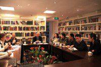 Встреча с представителями Хэнаньского университета