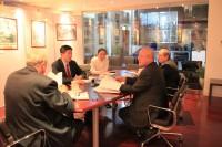 Участники встречи в Российском культурном центре