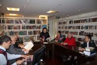 Встреча в Российском культурном центре   在俄罗斯文化中心举行的座谈会