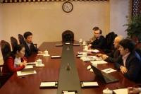Участники встречи в Министерстве образования КНР - 参加在中华人民共和国教育部会晤的人员