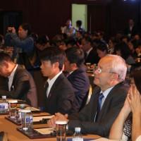 Виктор Коннов в зале заседаний конференции
