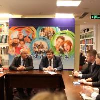 Встреча в представительстве с делегацией Республики Крым