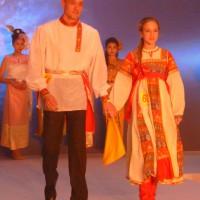 На подиуме – представители Российского культурного центра