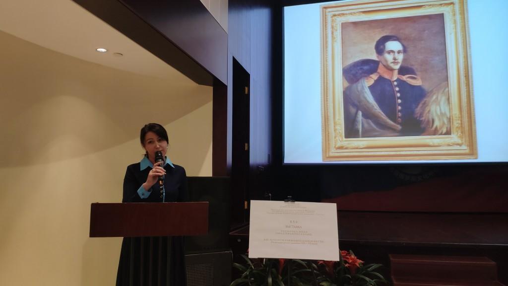 Юлия Печникова рассказывает о музее «Тарханы»